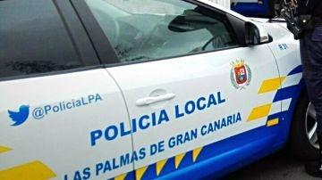 Imagen de archivo de un coche de la Policía Local de Las Palmas
