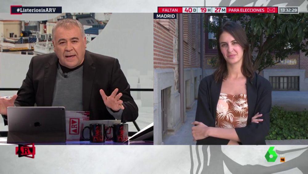 La portavoz de Más Madrid, Rita Maestre