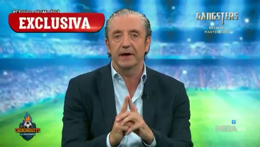 Exclusiva de Josep Pedrerol: desvela el objetivo del Real Madrid esta temporada