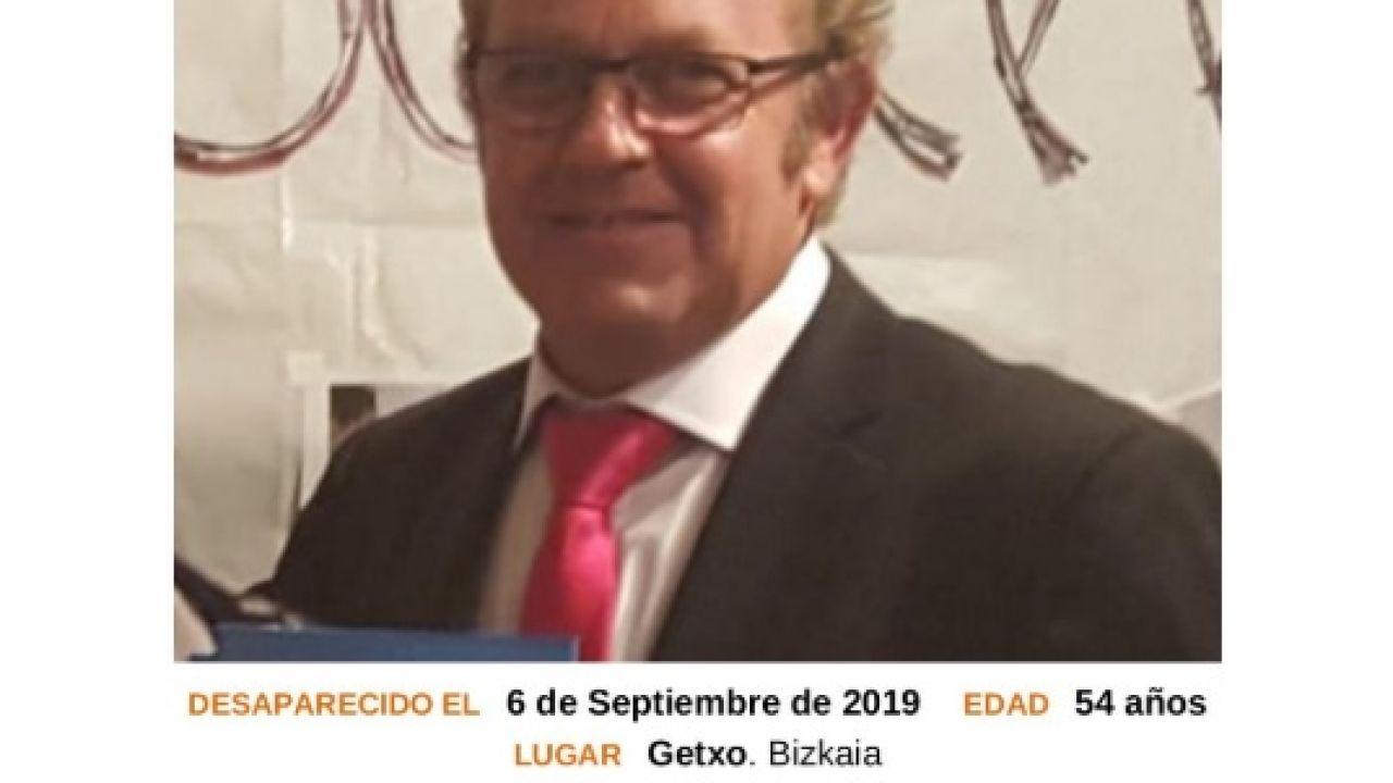 Hallan el cuerpo sin vida de José Antonio Delgado, desaparecido el 6 de septiembre en Getxo.