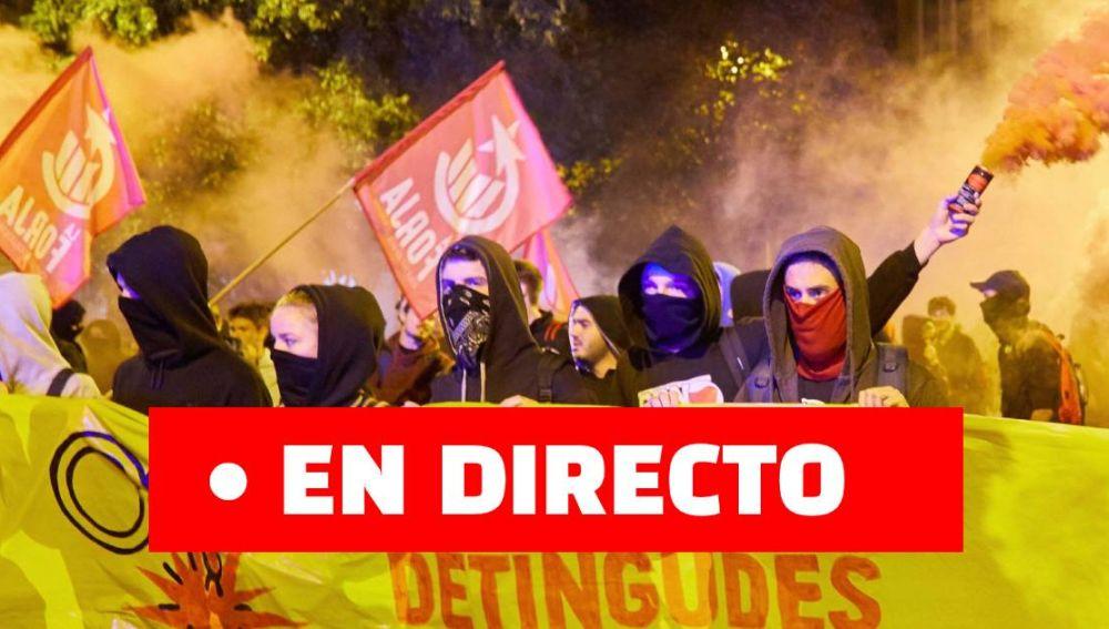 Cataluña y los CDR en el 1 de octubre