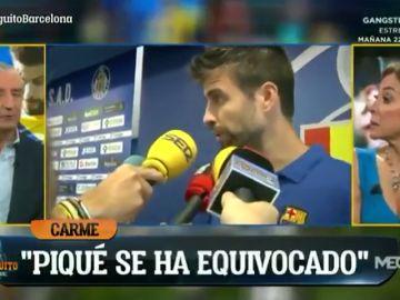 """""""Piqué es el presidente"""": Josep Pedrerol, claro en el debate sobre el conflicto entre jugadores y directiva del Barcelona"""