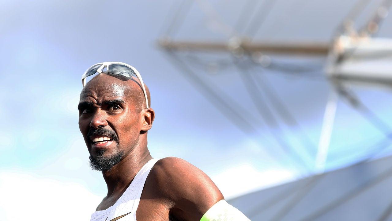El atleta británico Mo Farah