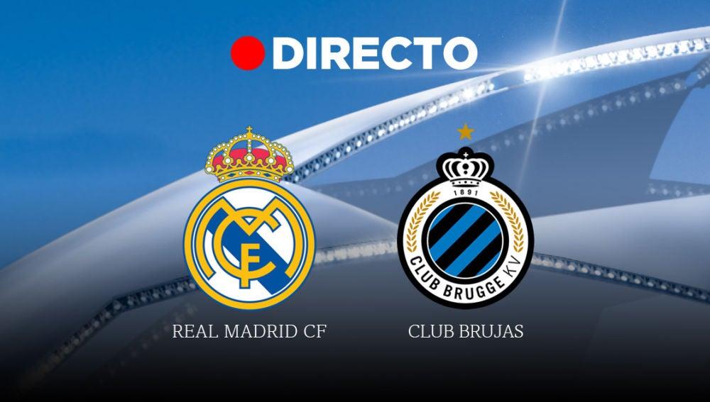 Real Madrid-Brujas, partido de la Champions League 2019/2020