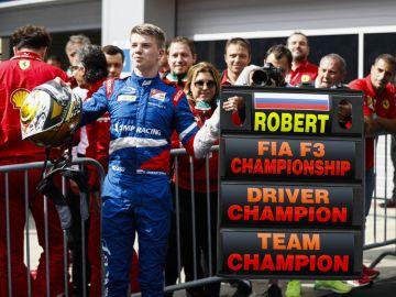 Robert Shwartzman F3 Campeón 2019