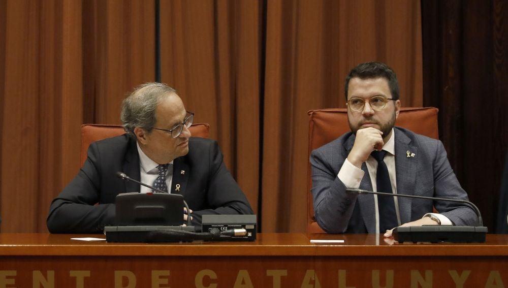 Torra y Aragonès