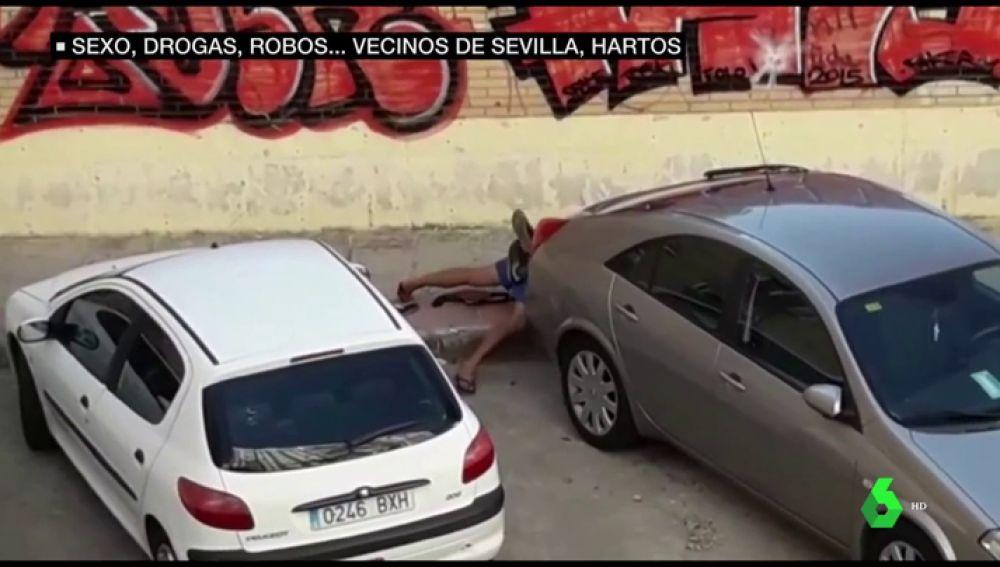 Sexo y drogas en la calle en La Macarena: los vecinos estallan por estas imágenes