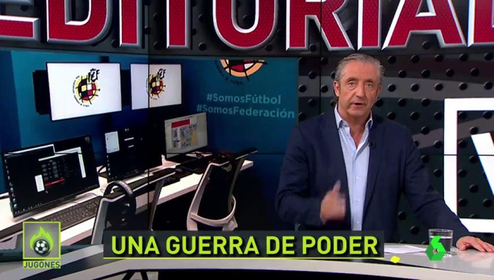 """""""El lío con el VAR es por dinero"""": Pedrerol se moja sobre el control del VAR"""