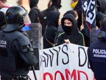 Manifestaciones en Cataluña por el 1-O