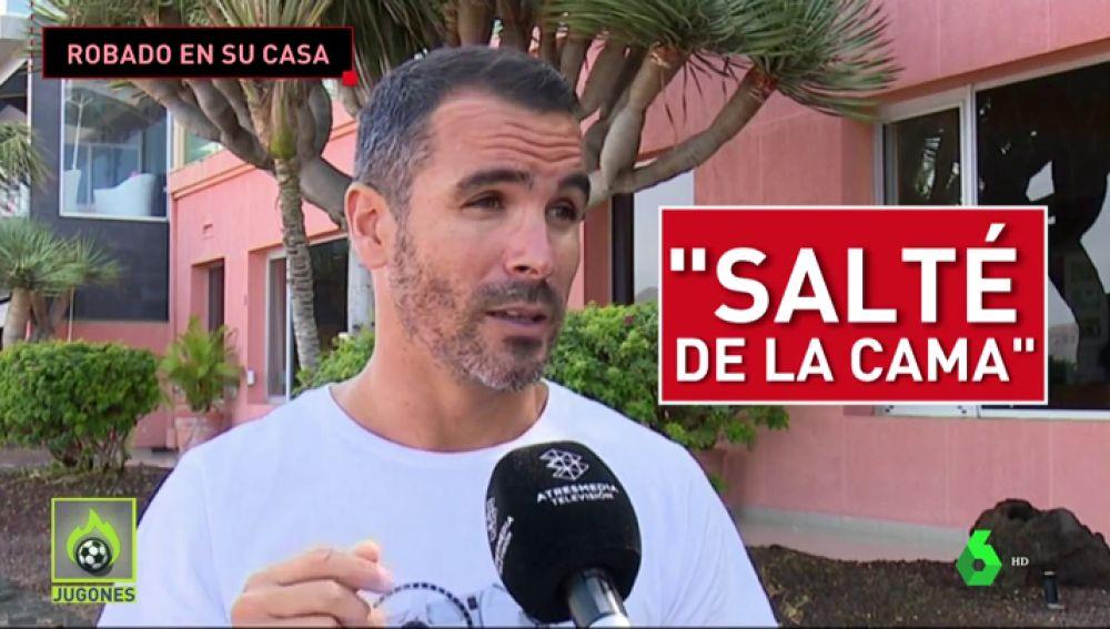 """"""""""": Jugones habla en exclusiva con un futbolista que sufrió un robo en su casa"""