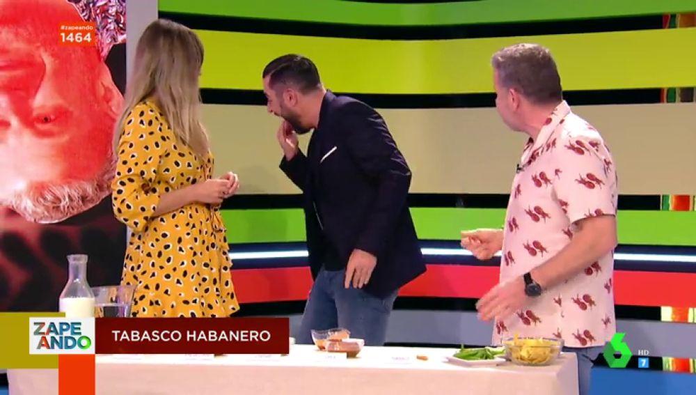 Anna Simon, Dani Mateo y Alberto Chicote