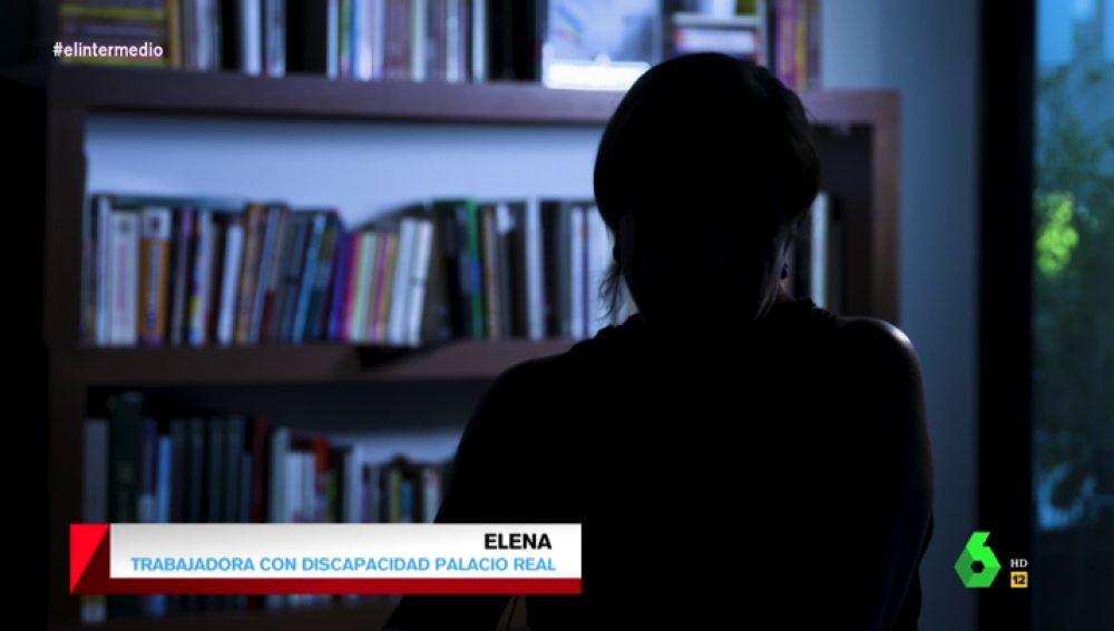 """Habla una de las trabajadoras con discapacidad empleada en el Palacio Real: """"Cobré 560 euros por hacer más de 40 horas semanales"""""""