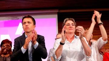 Íñigo Errejón junto a Marta Higueras