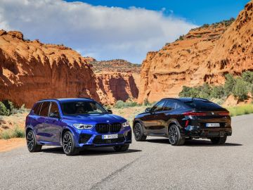 BMW X5 y X6 M Competition