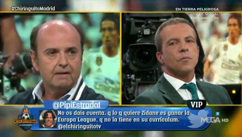 """Juanma Rodríguez, indignado con Zidane: """"Su figura empieza a resultarme irritante"""""""