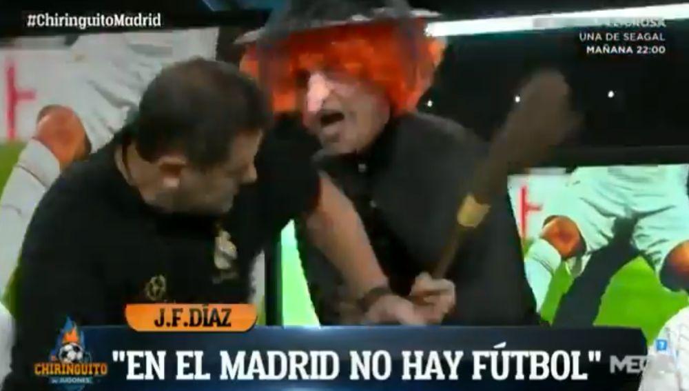 Cristóbal Soria asusta a Tomás Roncero