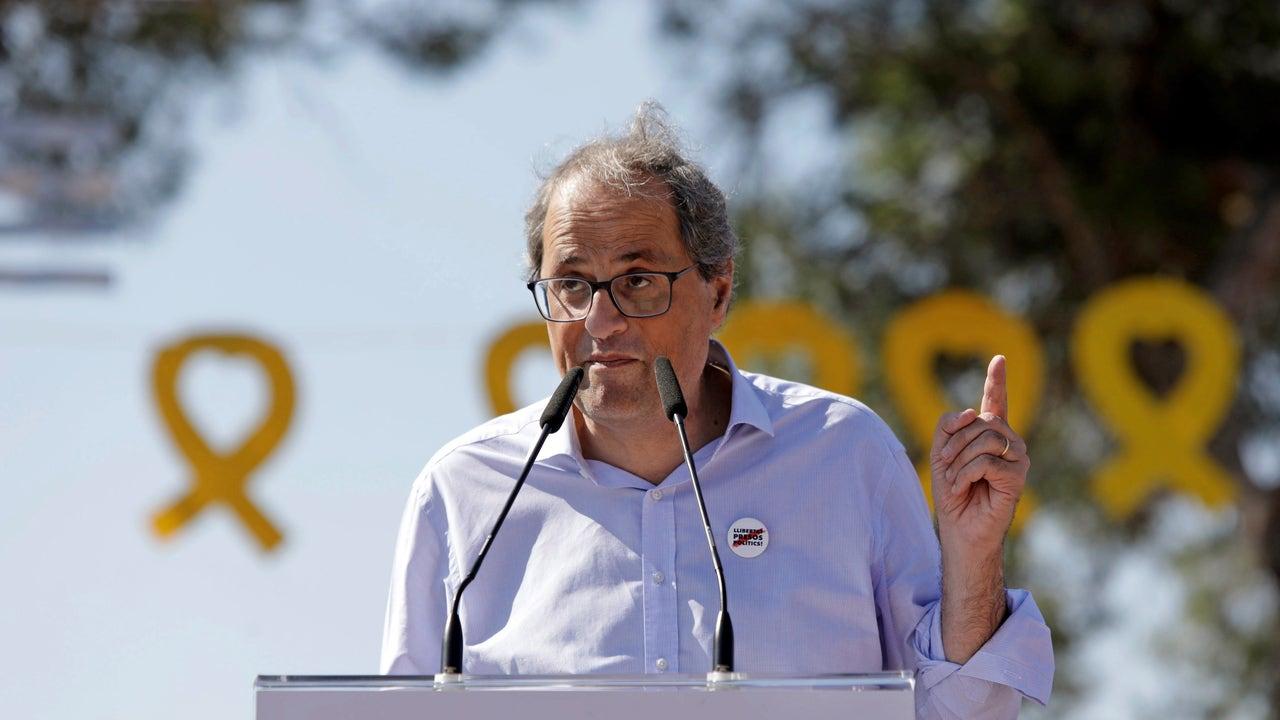 El president de la Generalitat de Cataluña, Quim Torra (Archivo)
