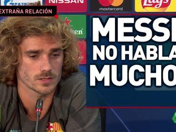 Griezmann y Messi. ¿Relación rota?