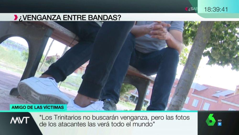 """Habla un amigo de los heridos en la reyerta de Vallecas: """"No buscarán venganza, pero las fotos de los atacantes se conocerán"""""""