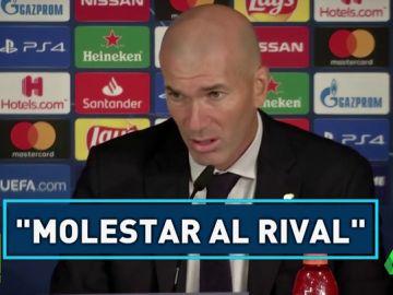 """Las palabras de Zidane tras el empate contra el Brujas: """"Prefiero olvidarme de la primera parte"""""""