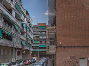 La calle en la que ocurrieron los hechos en el barrio madrileño de Coslada