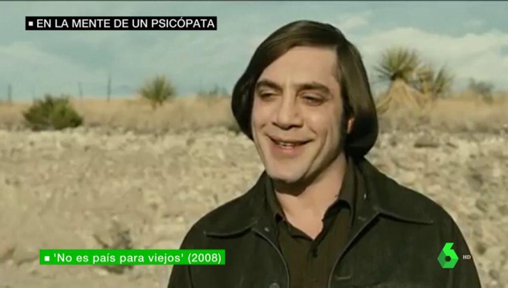 El personaje de Javier Bardem en 'No es País para viejos'