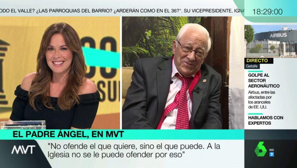 """¿Se presentaría el padre Ángel a las elecciones?: """"Si me hicieran caso y pudiera hacer algo, claro"""""""