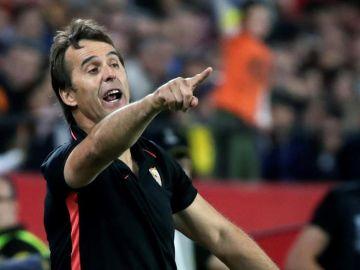 El entrenador del Sevilla, Julen Lopetegui.