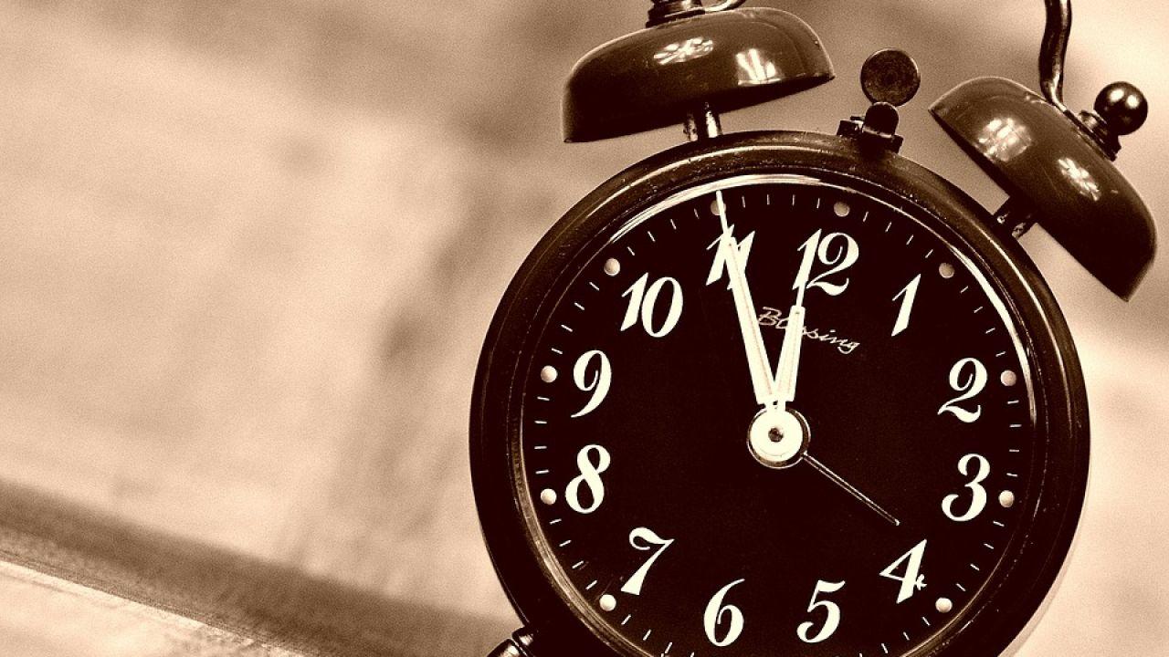 Imagen de archivo del cambio de hora
