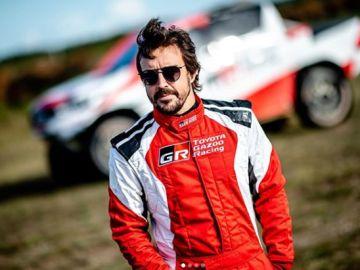 Fernando Alonso, piloto de Toyota