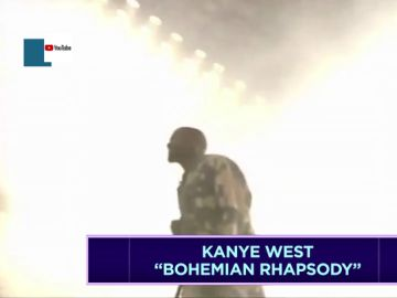 Kanye West cantando Bohemian Rhapsody