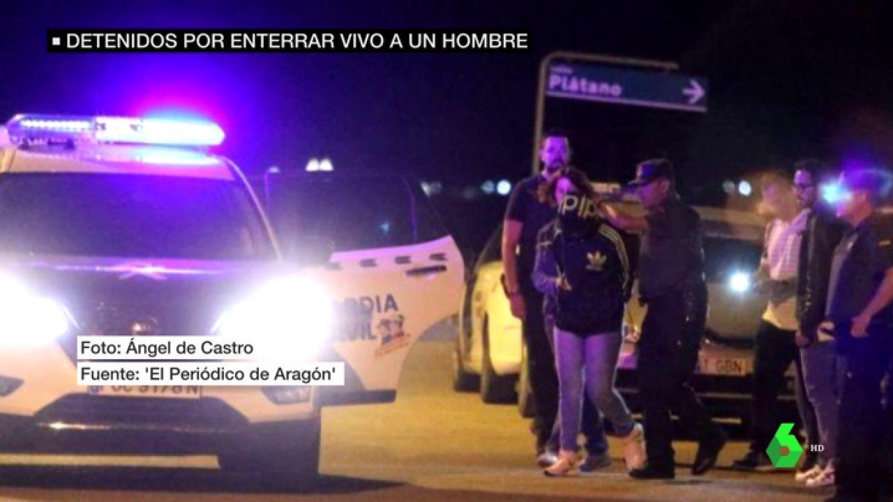 Los agentes detienen a dos personas por el crimen de José Antonio