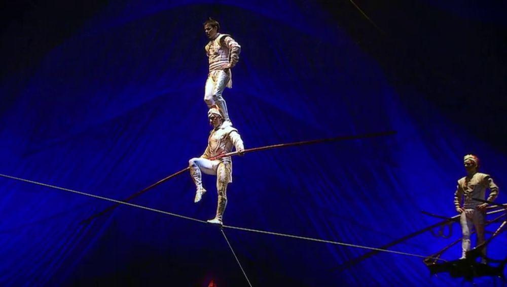 'Lo nunca visto antes': una realidad en el Circo del Sol