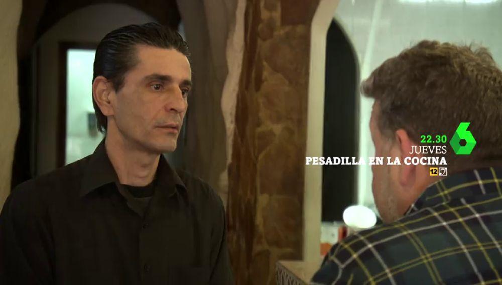 """Alberto Chicote se encuentra con un hecho insólito en Pesadilla en la cocina: """"¿Eres la única persona que trabaja en todo el restaurante?"""""""
