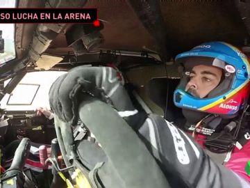 Imágenes inéditas de Fernando Alonso en los test del Rally de Marruecos