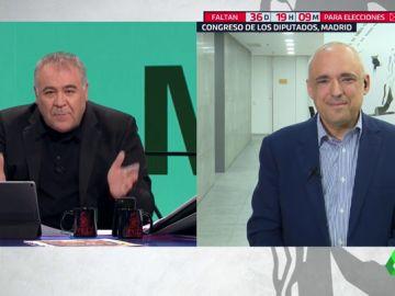 Rafael Simancas, secretario general del PSOE en el Congreso