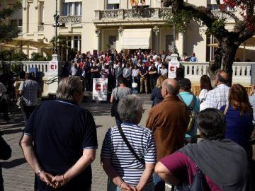 """La España Vaciada se detiene cinco minutos """"para seguir luchando"""""""
