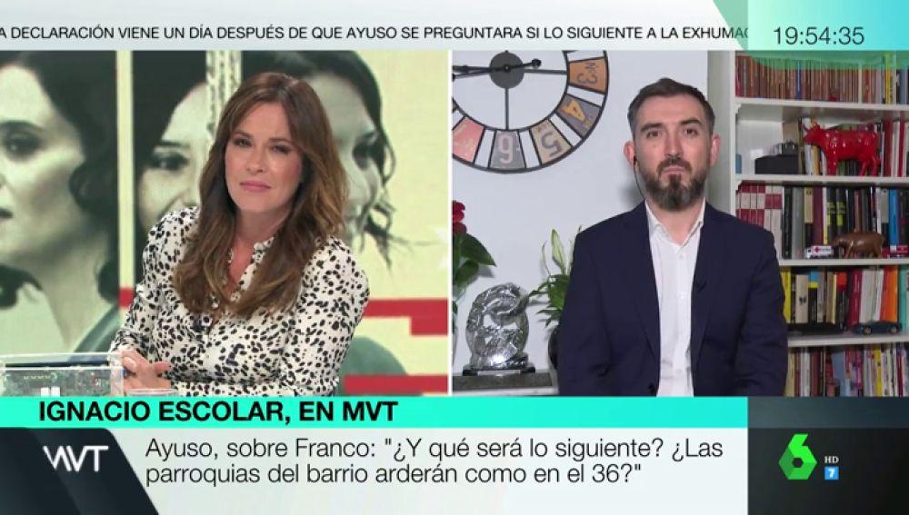 """Ignacio Escolar: """"A Pablo Casado que se confunda el discurso del PP con el de Vox le va fatal"""""""