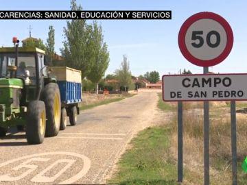Una estación fantasma y una escuela con 30 niños: así es la vida en un pueblo de la España Vaciada