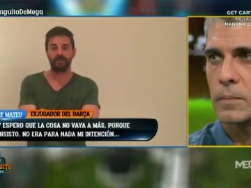 """Jofre Mateu pide disculpas a José Luis Sánchez por su tuit: """"No era para nada mi intención"""""""