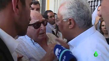 El primer ministro portugués pierde los nervios y se enfrenta a un vecino en el cierre de campaña