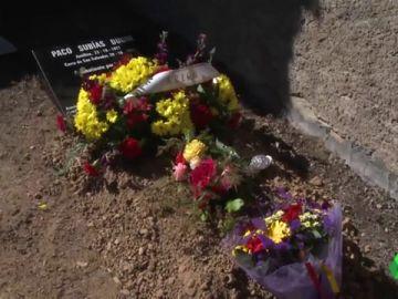 Acto de inhumación de un maqui en Huesca