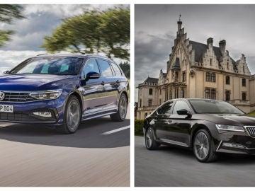Volkswagen Passat y Skoda Superb