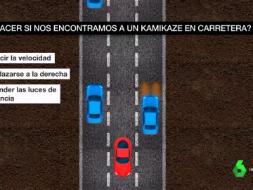 Qué hacer ante un kamikaze en la carretera