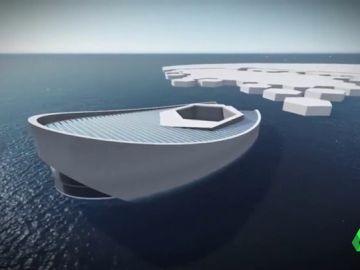 Submarino y congelador para frenar el cambio climático