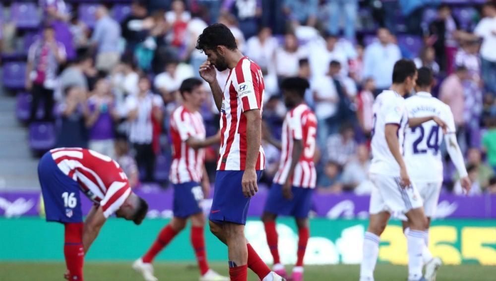 Diego Costa se lamenta