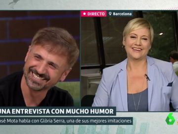 José Mota y Glòria Serra