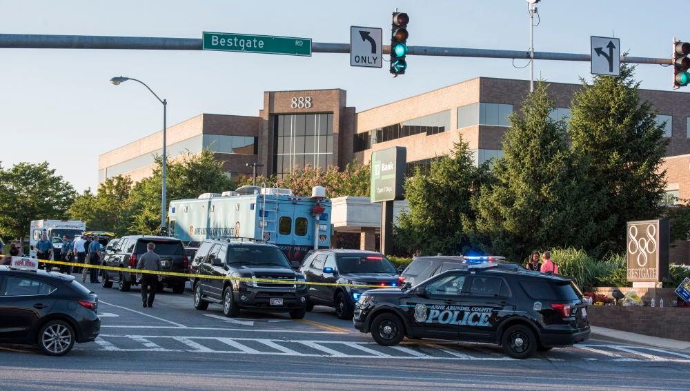 El tiroteo se produjo en la madrugada del domingo, sobre la 1:27 hora local