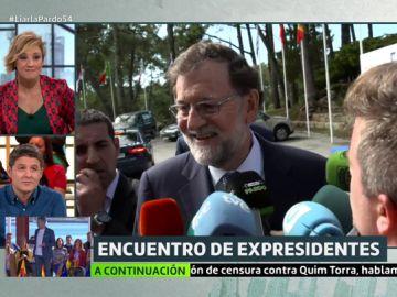 Luis Troya y Mariano Rajoy