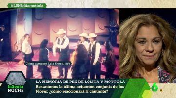 Lolita Flores, en laSexta Noche
